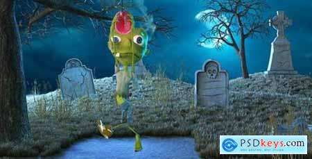 Videohive The Halloween Zombie 13185481
