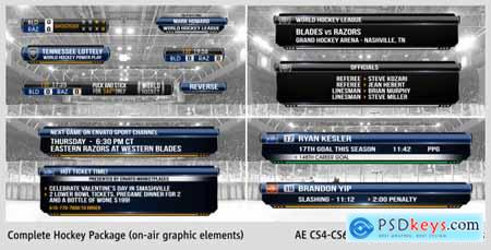 Videohive Complete On-Air Hockey Package 4138004