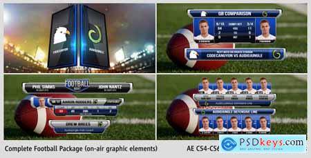 Videohive Complete On-Air Football Package 7009239