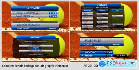 Videohive Complete On-Air Tennis Package 5504875