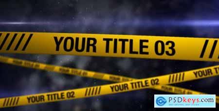 Videohive Crime Scene 305539