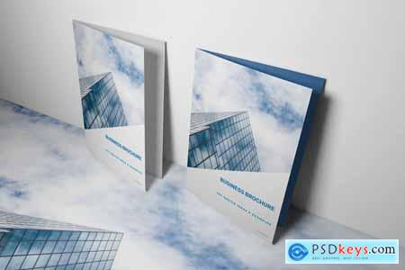 Blue Business Brochure Template 4166641