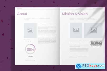 Lavender Brochure Layout 4166622