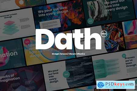 DATH - Creative Business Powerpoint and Google Slides Template