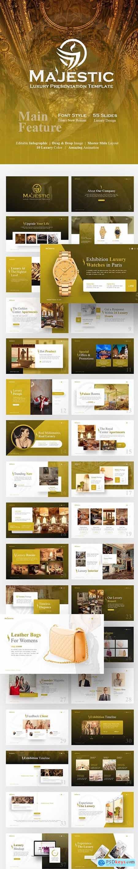 Majestic Luxury PowerPoint Template 23200807