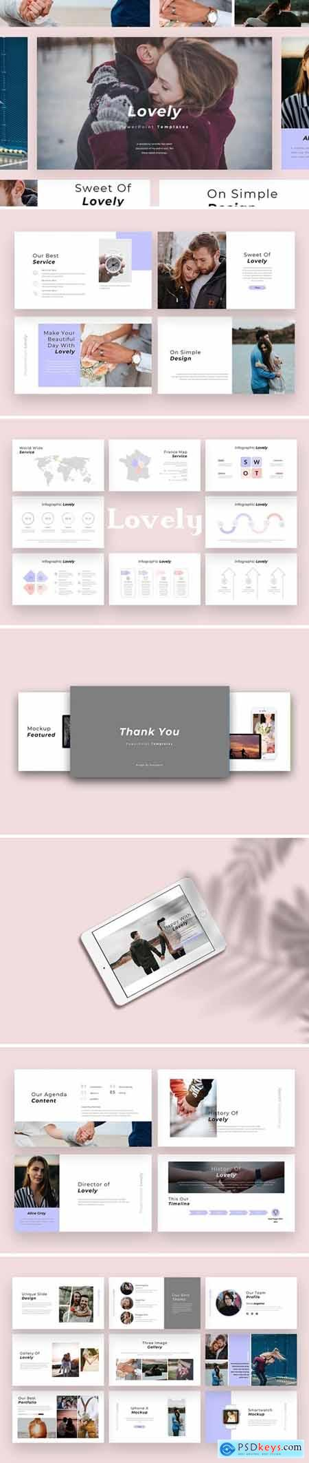 Lovely - Multipurpose Powerpoint, Keynote and Google Slides Templates