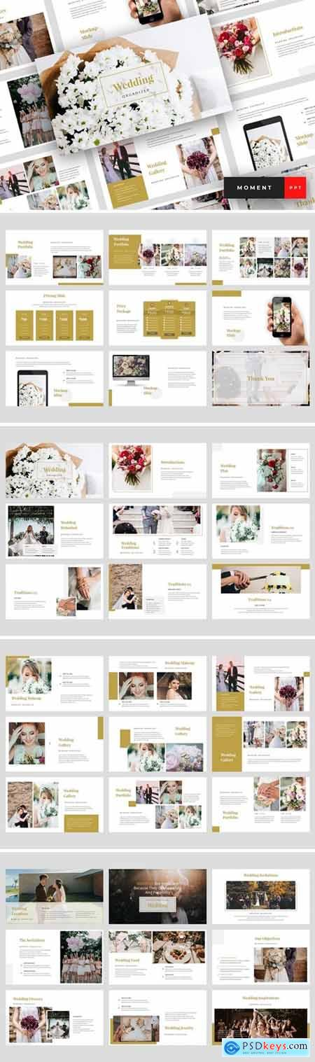 Moment - Wedding Powerpoint, Keynote and Google Slides Templates