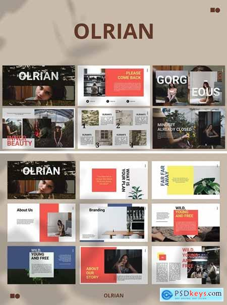 Olrian Powerpoint, Keynote and Google Slides Templates