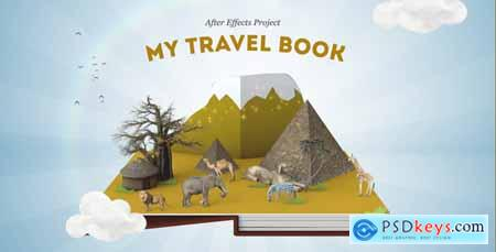 Videohive My Travel Book 12900175