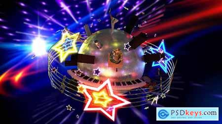 Videohive Music Planet Video 23945047
