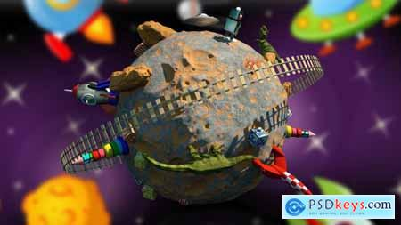 Videohive Children Planet 2 Video 4K 24310044
