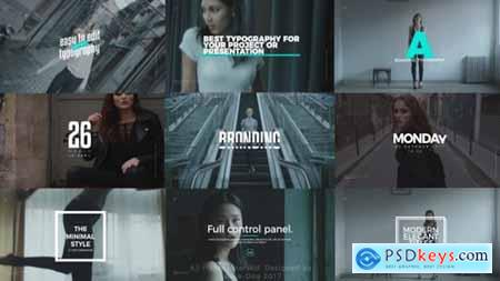 Videohive Smooth Clean Titles Premiere Pro 24754659