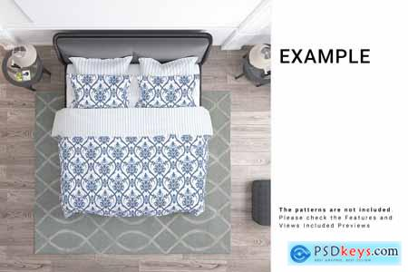Bedroom Textile Set 3771234