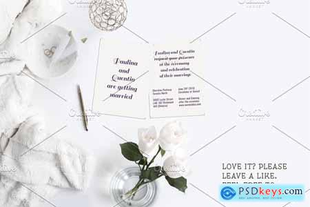 Simple Wedding Invitation 2577302