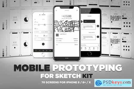 Mobile Prototyping Kit for Sketch 2577635