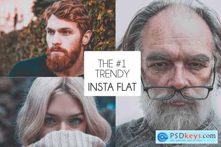 The 1 Trendy Insta-Flat Preset 2577235