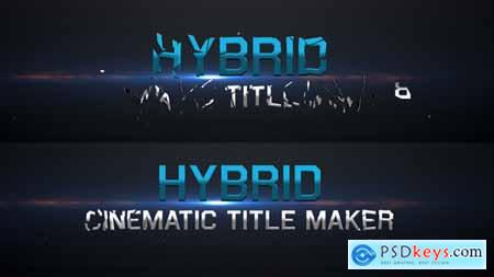 VideoHive Hybrid - Cinematic Title Maker 5453854