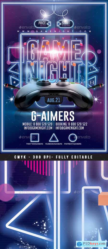 Game Night Flyer 22300315