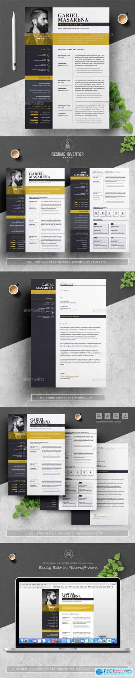 Resume Template 22597901