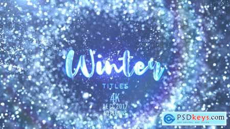 Videohive Winter Snow Titles 24729209