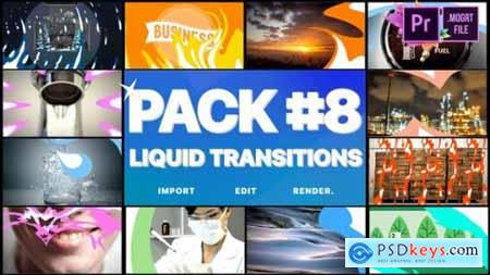 Videohive Liquid Transitions Pack 08 Premiere Pro MOGRT 24780777