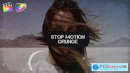 Videohive Stop Motion Grunge 24749582
