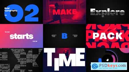 Videohive Big Titles -Typography 24697420