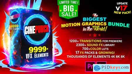 Videohive CINEPUNCH The Biggest Motion Graphics Bundle in the World! V.16 20601772