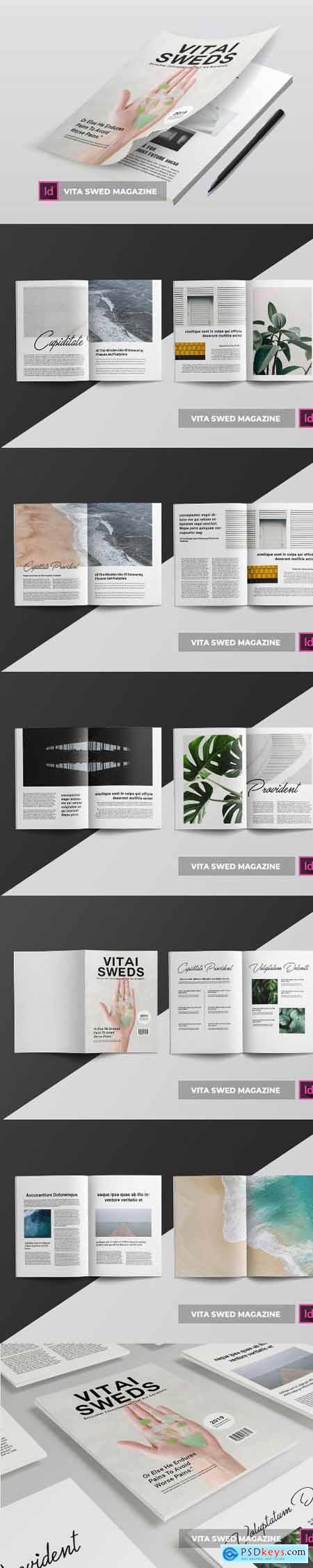 Vita Swed Magazine Template