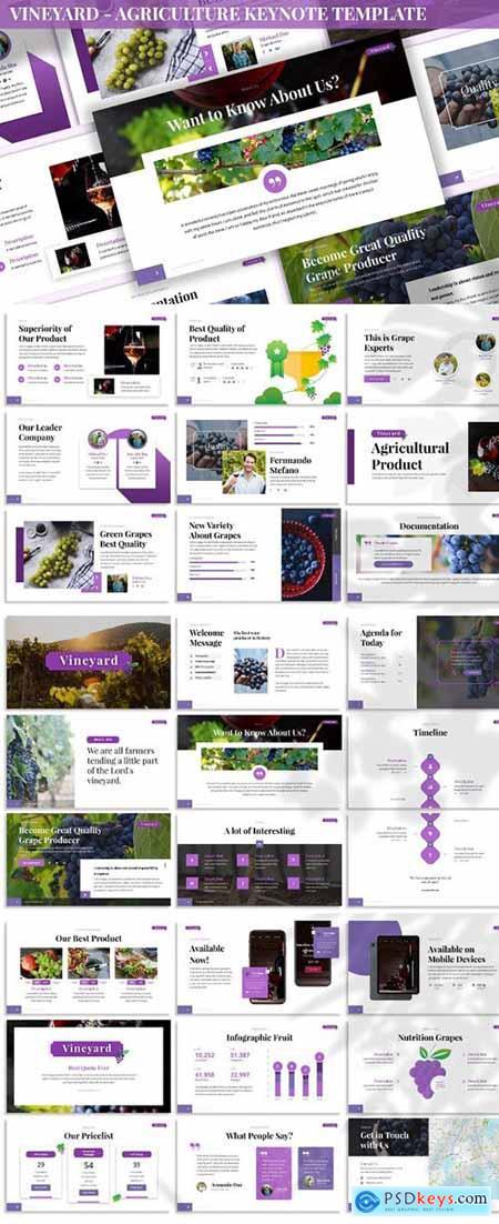 Vineyard - Agriculture Keynote Template