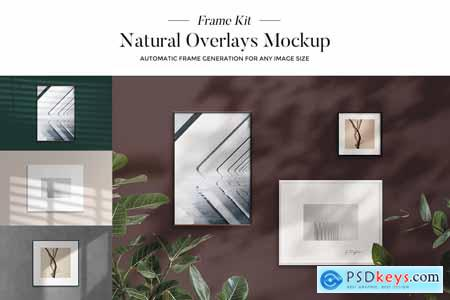 Frame Natural Overlays Mockup Kit 3884858