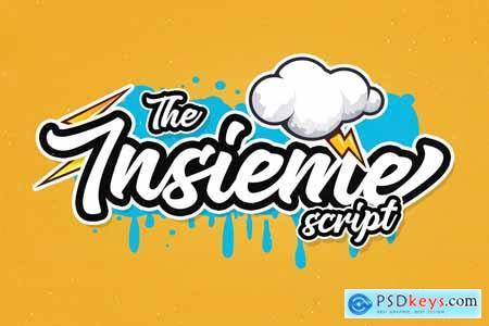 Insieme Script Font 4174214