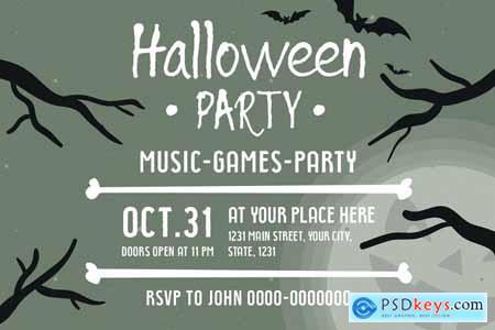 Halloween Horror Font Bundle 4182952