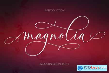 Magnolia Modern Script 4160596