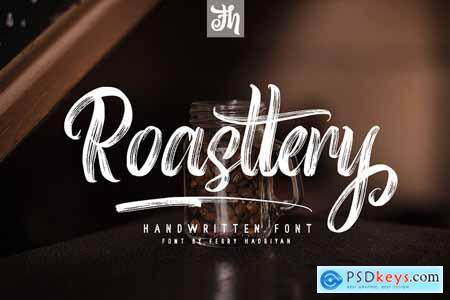 Roasttery - Handwritten Font 4164011