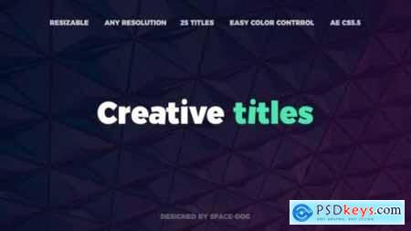 Videohive Motion Abstract Titles Premiere Pro 24783495