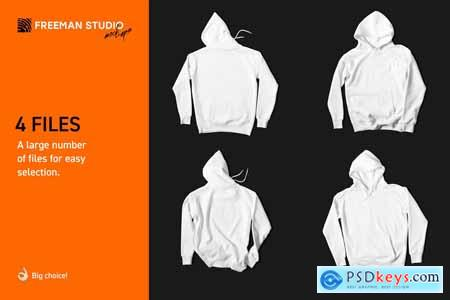 Hoodie Mock-Up Set 4126157