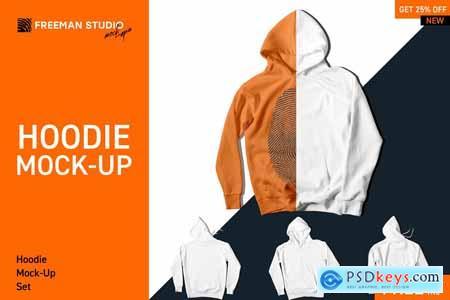 Hoodie Mock-Up Set 4126157
