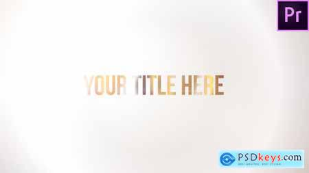 Videohive Clean Bling Title 24775754