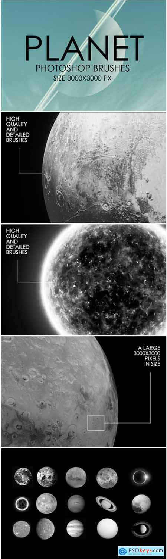 Planet Photoshop Brush Set 1838856