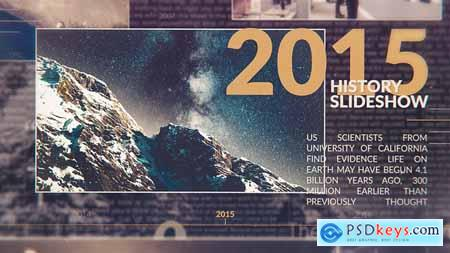 VideoHive Chronological History Slideshow 24048403