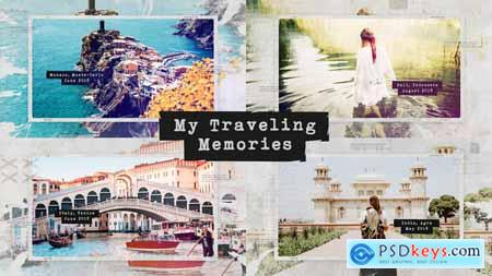 VideoHive Traveling Memories Journey Photo Album Family and Friends Adventure Slideshow 24759089