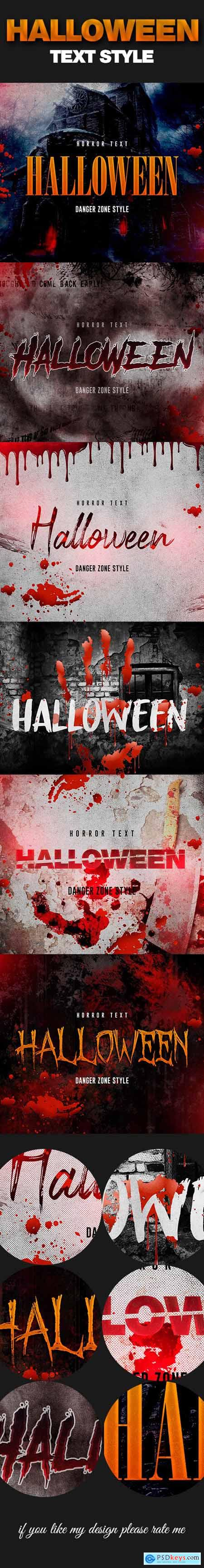 Halloween Horror Text Effect 24729608