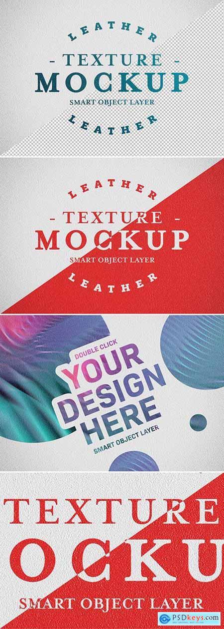 Leather Texture Mockup 293604149