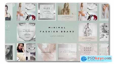 Videohive Fashion Brand Minimal Slideshow 19888030