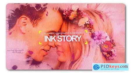 Videohive Clean Ink Watercolor Slideshow 19533490