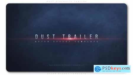 Videohive Dust Cinematic Trailer 23046244