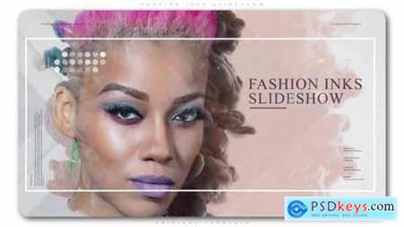 Videohive Fashion Inks Slideshow 23158975