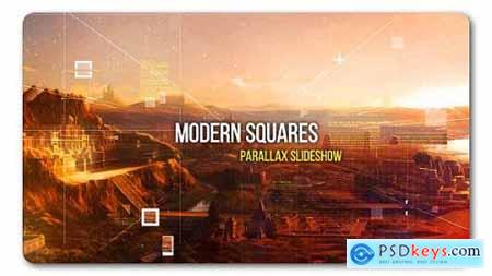 Videohive Modern Squares Parallax Slideshow 19111880