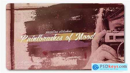 Videohive Paint Brushes of Mood Parallax Slideshow 19766719